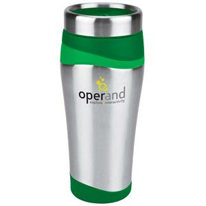 Color Wave Stainless Travel Tumbler - 16 oz
