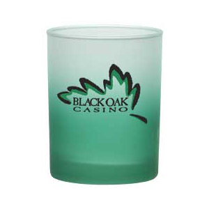Executive Double Old-Fashioned Tumbler - 14 oz - Custom Frosty Glow