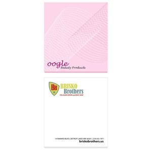 """2 3/4"""" x 3"""" Bic® Sticky Notepad - 25 Sheet"""