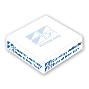 "4"" x 1"" Memo Cube - 200 Sheet"