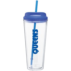 Hot/Cold Spirit Cup with Straw - 20 oz