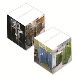 """4"""" Full Color Memo Cube - 800 Sheet"""
