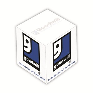 "3 3/8"" Sticky Note Memo Cube - 700 Sheet"