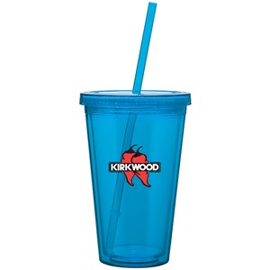 Spirit Cup with Straw - 16 oz
