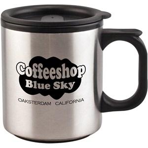 Stainless Travel Mug - 12 oz