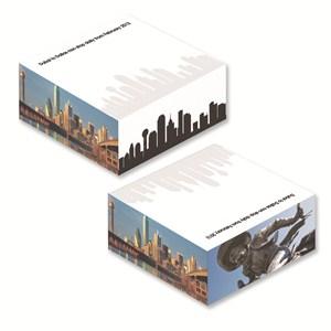 """4"""" x 1 1/4"""" Full color Memo Cube - 250 Sheet"""
