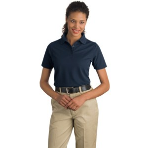 Ladies Cornerstone® Pique Industrial Knit Polo Shirt