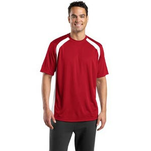 Sport-Tek Dry Zone Colorblock Crew Shirt