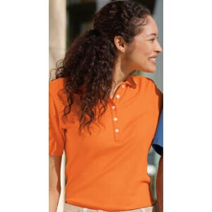 Ladies EZCotton Pique Sport Shirt