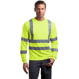 Cornerstone® Long Sleeve Reflective T-Shirt