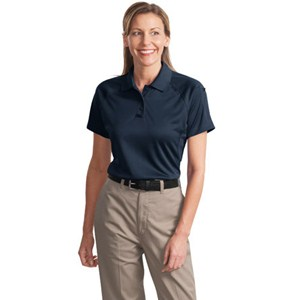 Ladies Cornerstone® Select Snap Proof Tactical Polo Shirt