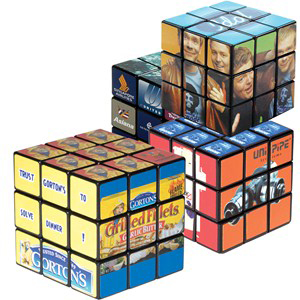 Rubik's® Cube Fully Customizable - 9 Tile