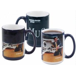 Full Color Mystique® Coffee Mug - 15 oz