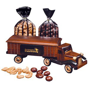 1950's Tractor Trailer - Chocolate Almonds & Cashews