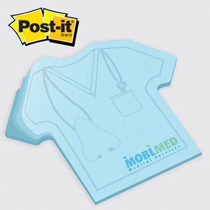 Large Scrub T-Shirt Post-it® Notepad - 50 Sheet