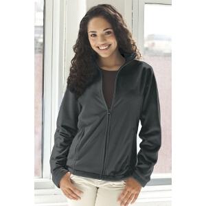Womens  Microfiber Full-Zip Jacket