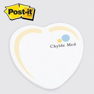 Large Heart Post-it® Notepad - 50 Sheet