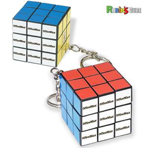 Micro Rubik's® Cube Key Holder
