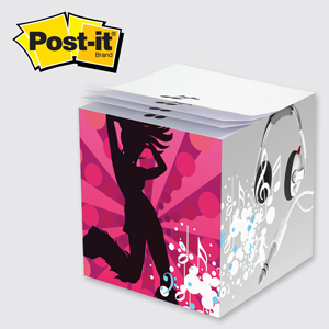 "2 3/4"" x 2 3/4"" x 2 3/4"" Post-it® Full Color Notes"