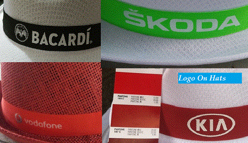 Logo on hats