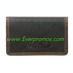 Colorplay Leather Card Case