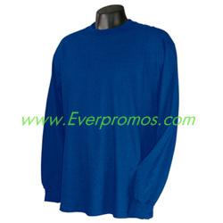 Champion Adult 5.2 oz. Cotton L/S Tagless T-Shirt