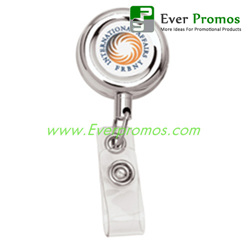 Metal Retractable Badge Holder