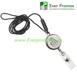 Dual Function Metal Badge Holder