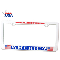 4 Holes License Plate Frame