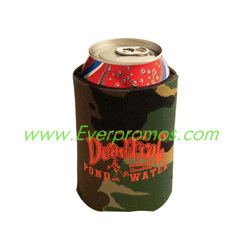 Camouflage Collapsible Foam Kan Cooler