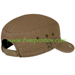District Threads® - Distressed Military Hat