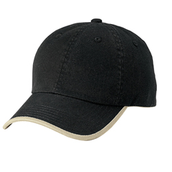 Port & Company® - Twill Cap with Contrast Visor Trim and Underbill