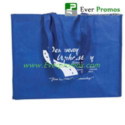 Non-Woven Shopper Tote with Velcro® Closure