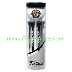 Titleist 2 Pro V1 Golf Ball Tube