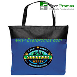 Non Woven Clipper Nautical Tote