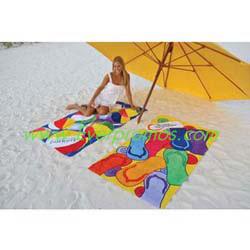 Stock Design Fiber Reactive Beach Towels