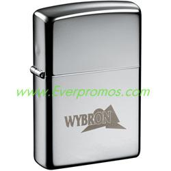 Zippo Windproof Lighter: High Polish Chrome