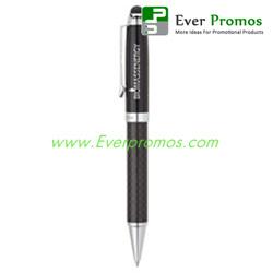 Carbon Fiber Stylus Ballpoint Pen